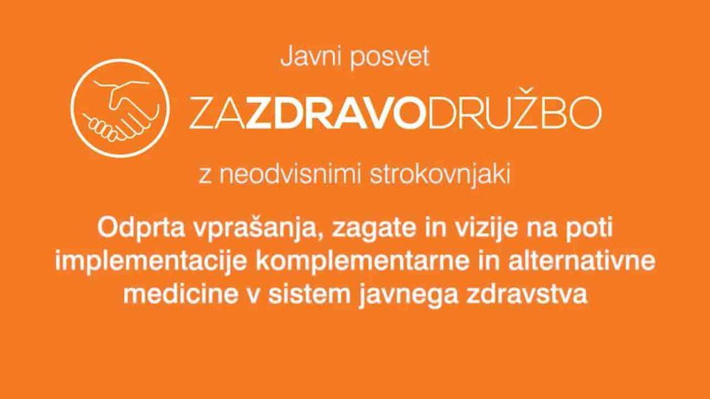 Javni posvet o alternativni in komplementarni medicini - 40 min