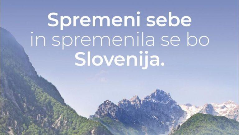 Spremeni sebe in spremenila se bo Slovenija